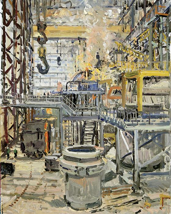 H.D. Tylle, Landschaften Und Industriebilder